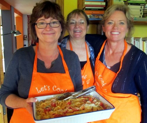 italian cookery lesson