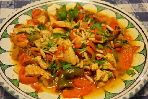 chicken - pepper