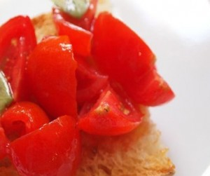 tomatoes bruschetta