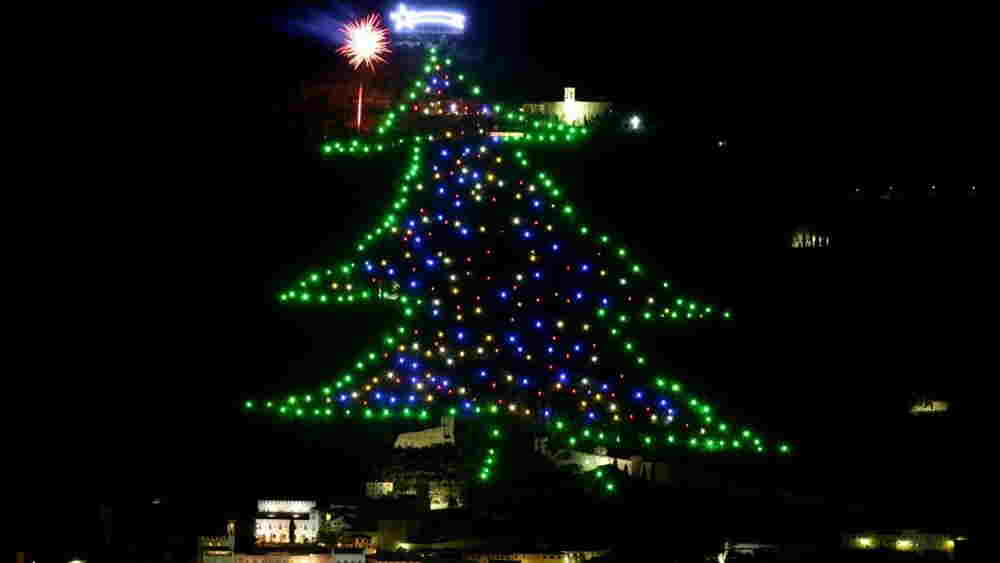 gubbio christmas tree