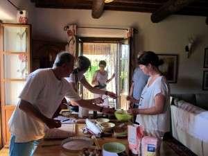 cooking class in Villa rental
