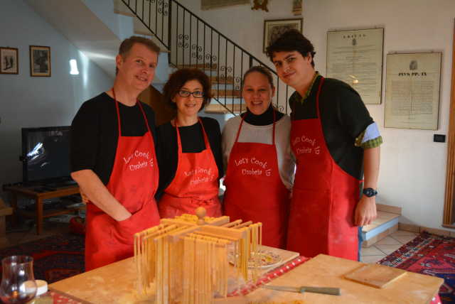 cooking class Umbria
