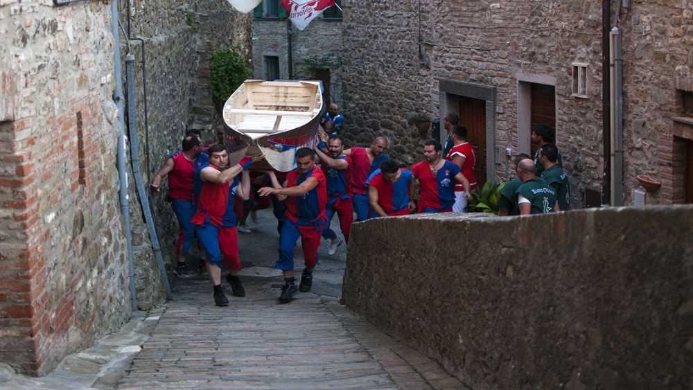 Palio of the boats Umbria