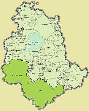 Umbria province