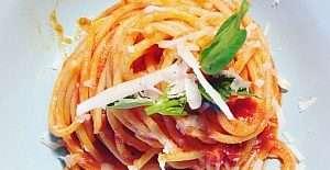 spaghetti first course