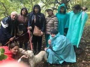 truffle hunting Umbria