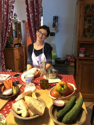 Cooking holiday in Umbria