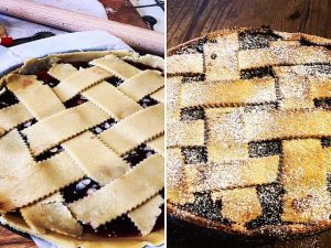 homemade crostata