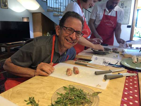 cooking calss in Italy