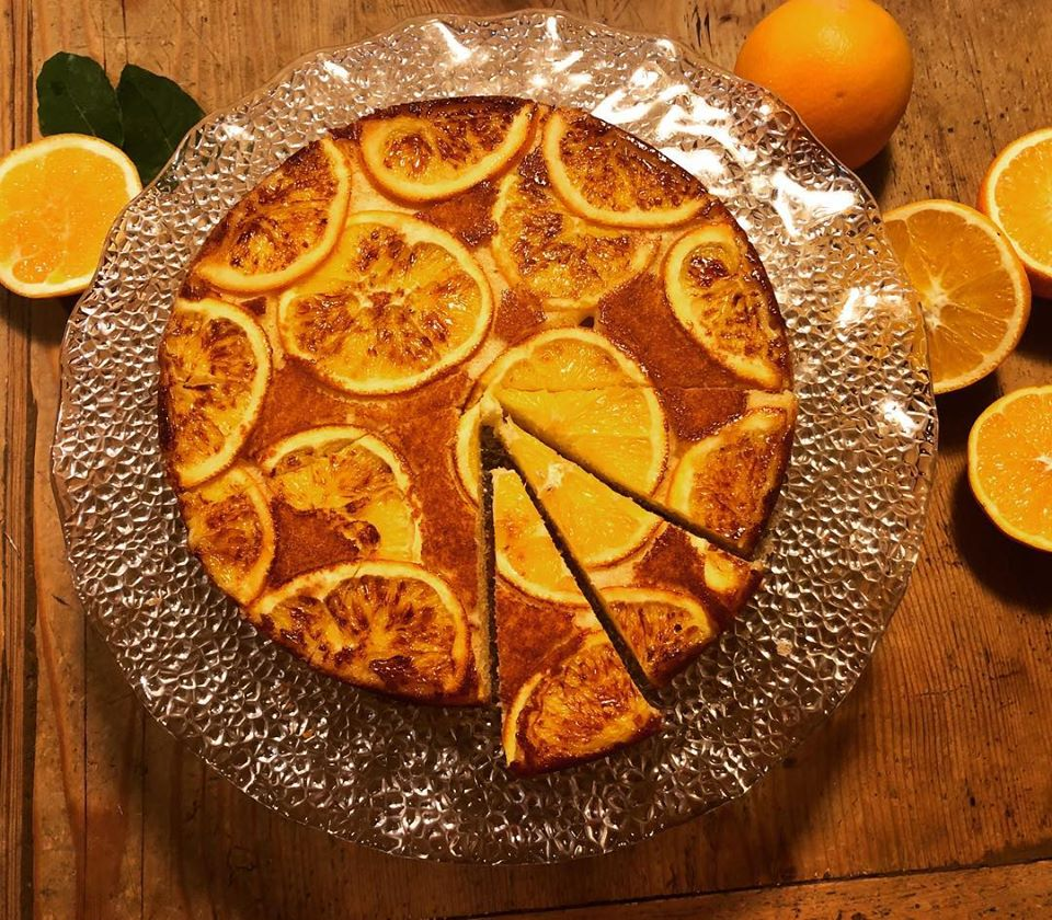 Oramge cake