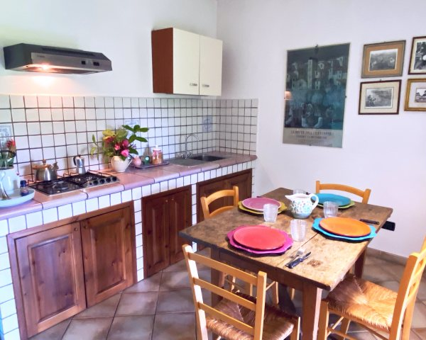 accommodation cooking school Umbria