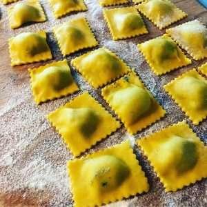 ravioli online cooking class
